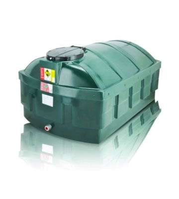 Atlas Tanks 1200LPBA 1200Litre Horizontal Low Profile Bunded Oil Tank