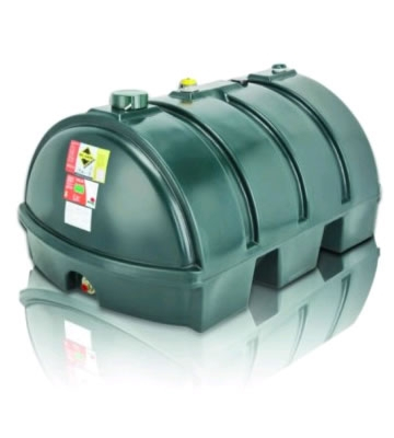Atlas Tanks 1225LPA 1225Litre Low Profile Single Skin Oil Tank