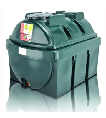Atlas Tanks 1300BHA 1300Litre Horizontal Bunded Oil Tank