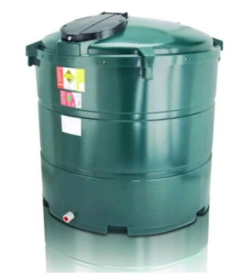 Atlas Tanks 1300BVA 1340Litre Vertical Bunded Oil Tank