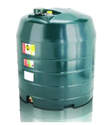 Atlas Tanks 1360VA 1360Litre Vertical Single Skin Oil Tank