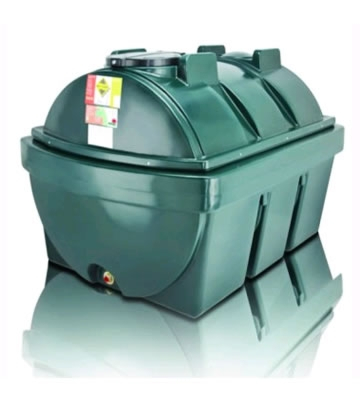 Atlas Tanks 1900BHA 1900Litre Horizontal Bunded Oil Tank