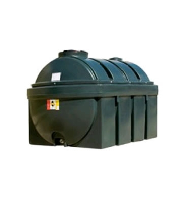 Atlas Tanks 2250BHA 2250Litre Horizontal Bunded Oil Tank