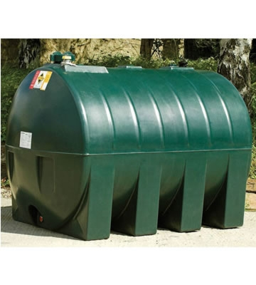Atlas Tanks 2250HA 2250Litre Horizontal Single Skin Oil Tank