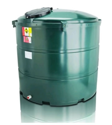 Atlas Tanks 2300BVA 2455Litre Vertical Bunded Oil Tank