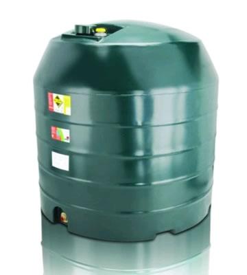 Atlas Tanks 2500VA 2500Litre Vertical Single Skin Oil Tank