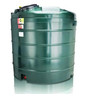 Atlas Tanks 5000BVA 5000Litre Vertical Bunded Oil Tank