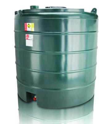 Atlas Tanks 5000VA 5000Litre Vertical Single Skin Oil Tank