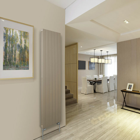 Barlo Slieve 1800mm High White Radiator