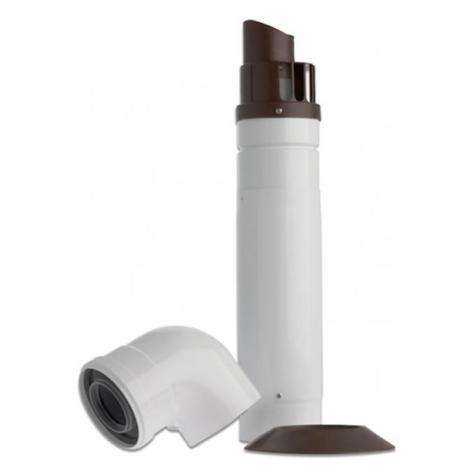 Baxi Standard Tele Horizontal Flue inc Elbow