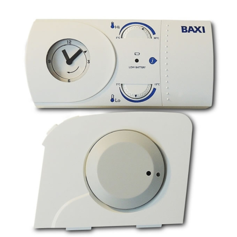 Baxi Wireless Mechanical RF Thermostat