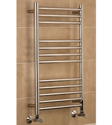 Boston Polished Stainless Steel Towel Rails