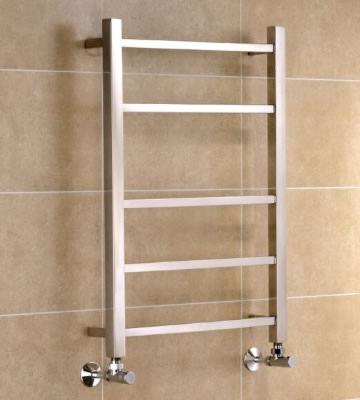 Cambridge Polished Stainless Steel Towel Rails