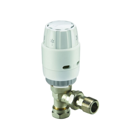 Danfoss RAS-C2 8/10mm Angle Thermostatic Radiator Valve