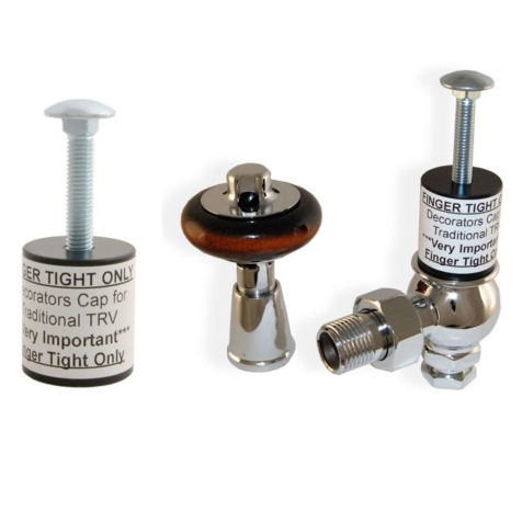 Decorators Cap for Admiral and Commodore Traditional Radiator Valves