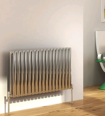 DQ Cove Stainless Horizontal Double Radiators