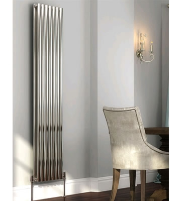DQ Cove Stainless Vertical Double Radiators