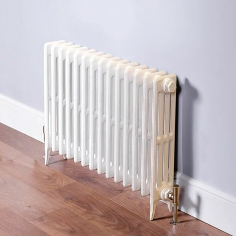 DQ Hawkshaw 4 Column Cast Iron Radiators RAL Colours