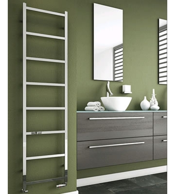 DQ Liana Brushed Stainless Steel Towel Rails