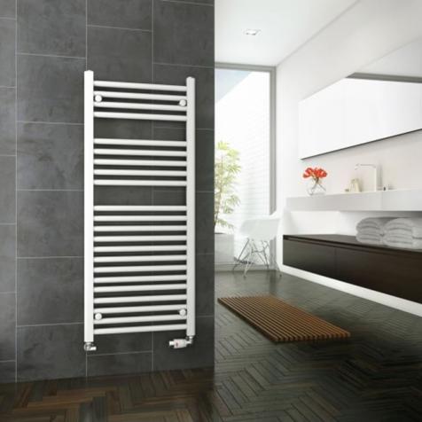 DQ Metro White Towel Rails