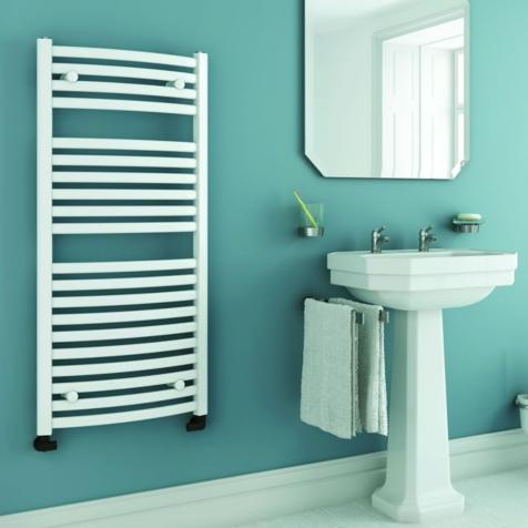 DQ Orion White Towel Rails
