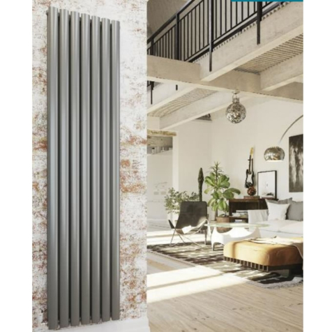 DQ Tao Vertical Infinity Steel Radiators
