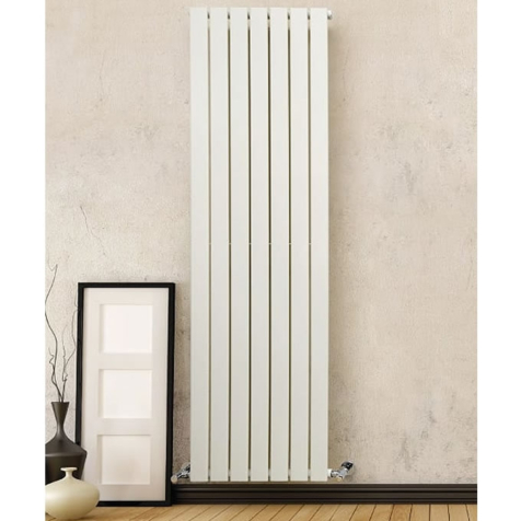DQ Tornado Double Vertical Dark Grey Texture or RAL Finish Radiators
