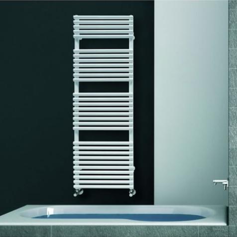 DQ Vulcano T White Towel Rails