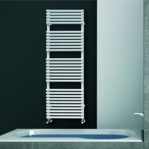 DQ Vulcano T Dark Grey Texture or RAL Finish Towel Rails