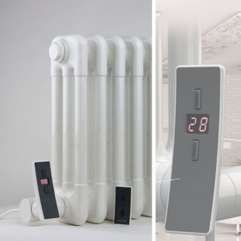 DQ Dual Fuel Option with H+H WiFi Thermostatic Element and Tee Piece