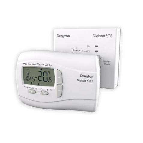 Drayton DigistatPlus 3RF Wireless Programmable Room Thermostat
