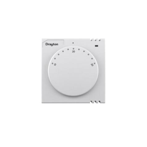 Drayton RTS2 Room Thermostat 240V + Neon