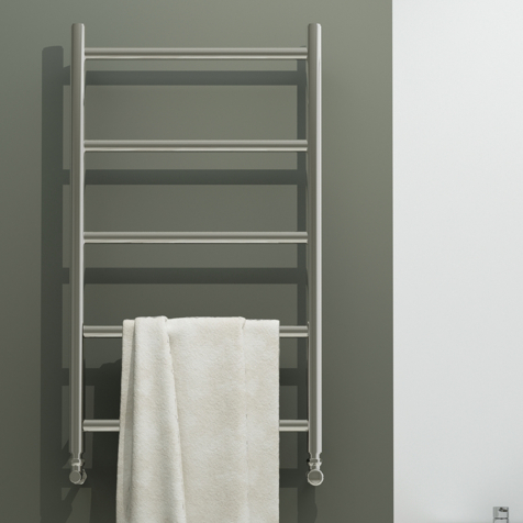 Aeon Econox Fully Electric Stainless Steel Towel Radiators