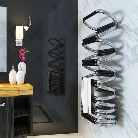Aeon Ellips Stainless Steel Towel Radiator