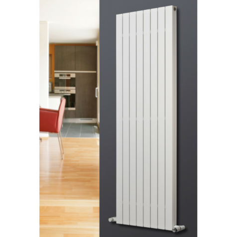 Eucotherm Mars Deluxe Vertical White Radiators