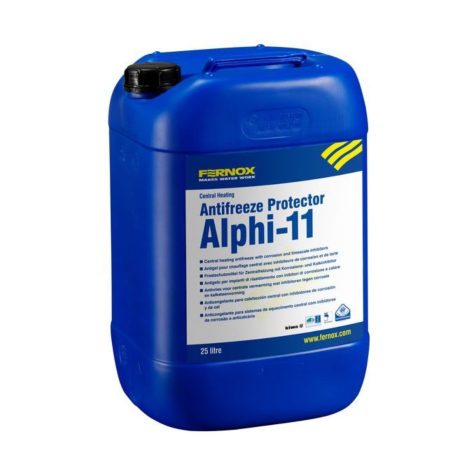 Fernox Alphi-11 Inhibitor and Anti-Freeze 25 Litres