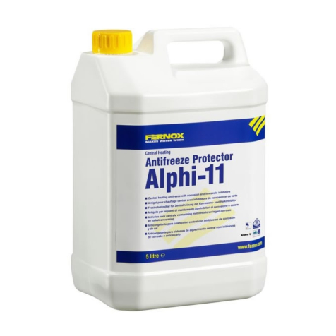 Fernox Alphi-11 Inhibitor and Anti-Freeze 5 Litres