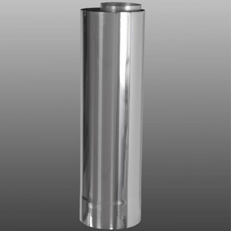 Firebird Stainless Steel 450mm Low Level Flue Extension for 73kW boilers