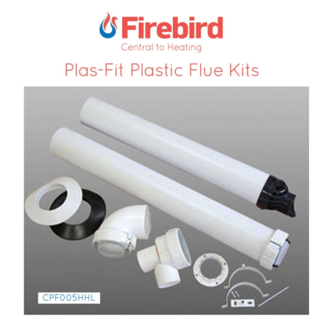 Firebird Plas-Fit High Level Flue Kit