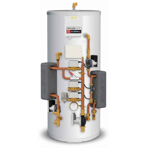 Gledhill Boilermate SP Pre Plumbed Mains Pressure Thermal Store Cylinders