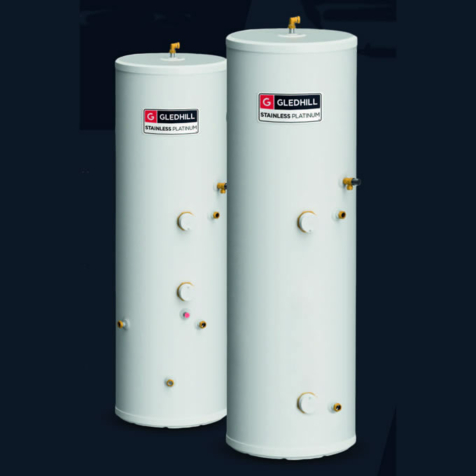 Gledhill StainlessLite Plus Indirect Unvented Cylinders