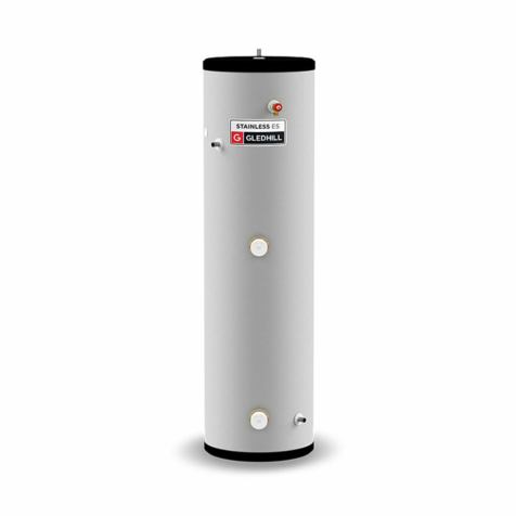Gledhill Stainless ES Direct Unvented Cylinders