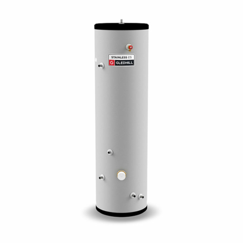 Gledhill Stainless ES Indirect Unvented Cylinders