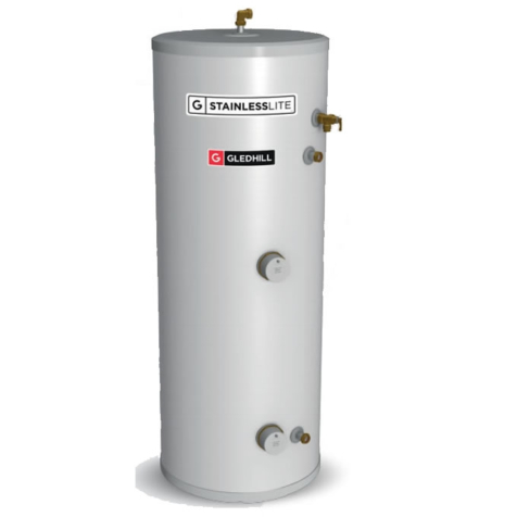 Gledhill StainlessLite Plus Slimline Direct Unvented Cylinders