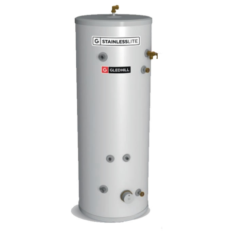 Gledhill StainlessLite Plus Slimline Heat Pump Indirect Cylinders