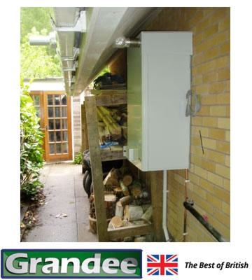 Grandee External Wall Mounted System Oil Condensing Boiler
