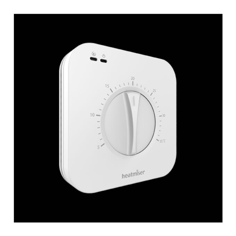 Heatmiser DS1 v2 Central Heating Dial Thermostat