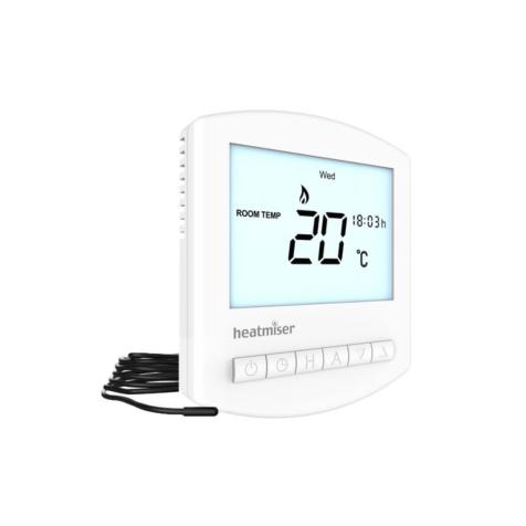 Heatmiser Slimline-E v3 Electric Underfloor Heating Thermostat