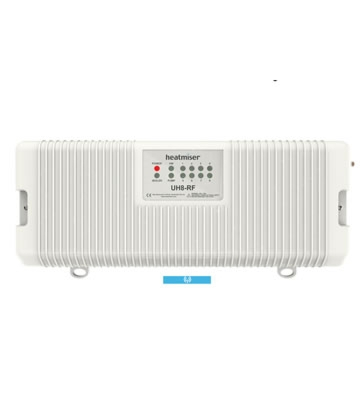 Heatmiser UH8-RF 230v 8 Zone Wireless Wiring Centre