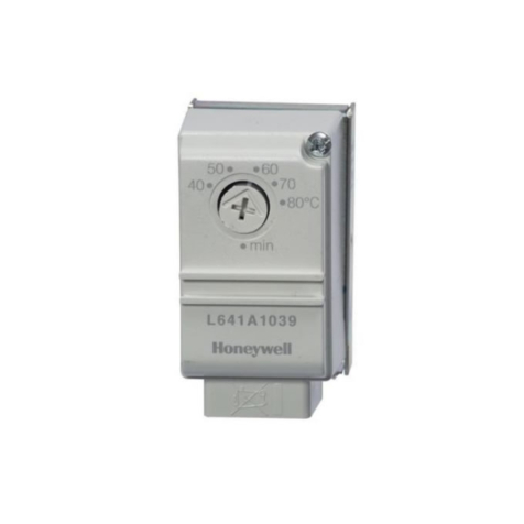 Honeywell L641A Cylinder Thermostat L641A1039